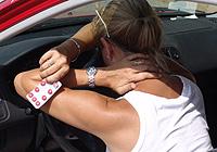 Un 37% de los conductores que se sienten indispuestos, aún asi prefieren ponerse al volante.