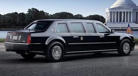 Imágenes del Cadillac One, la limusina presidencial que utilizará Barack Obama como presidente de los Estados Unidos. (Fotos: General Motors)
