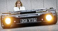 Flatmóvil, el coche más bajo y original del mundo
