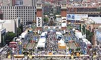 La edición 2009 tendría lugar en los Palacios de la Exposición de Barcelona.
