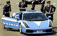 Lamborguini Gallardo, de los carabinieri italianos