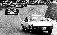 1973. El Porsche conducido por Eppie Weitzes. Foto: f1rejects.com.