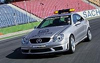 Coche de seguridad en 2003, Mercedes CLK 55 AMG.
