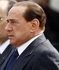 Silvio Berlusconi, primer ministro italiano.
