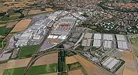 La sede central de Audi en Ingolstadt, Alemania