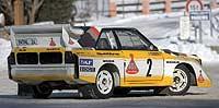 El Audi Sport Quattro dominó el mundo de los rallies a mediados de los 80.