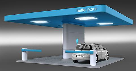 Así son las electrolineras, las gasolineras del futuro