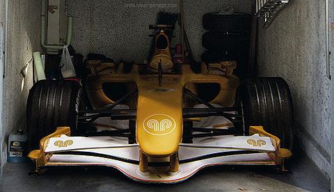 Un Fórmula 1 en tu garaje