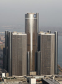 El edificio de General Motors en Detroit. (Foto: AP)