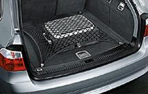 Recurra a las sujecciones (pulpos, redes, etc..) del maletero.