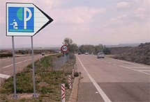 Las áreas de descanso españolas, las peores de Europa