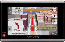 Becker Truck, un navegador especial para vehículos industriales