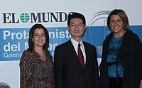 R. Guillén, K. Ohno y C. Albertí (Toyota)
