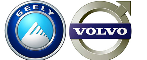 Volvo y Geely.