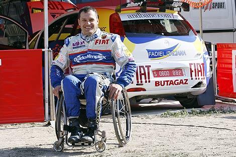 Albert Llovera, el primer parapléjico en correr el Mundial de Rallys