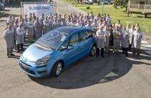 El coche 4 millones fabricado en Vigo
