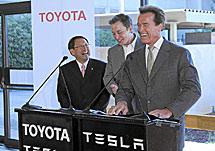 Toyota y Tesla desarrollarán la versión eléctrica del Rav4