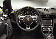 Interior del 911 Turbo S 918 Special Edition