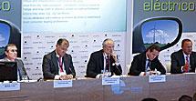 Fernando d'Ornellas, José Manuel Machado, José Luis López Schummer, Rafael Prieto y Jean Pierre Laurent.