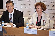Bernabé Unda y Yolanda Fernández Montes