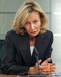 La ministra Elena Salgado. (EFE)