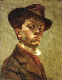 Autorretrato, 1898 (Raoul Dufy)