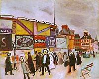 Les affiches à Trouville, 1906 (Raoul Dufy)