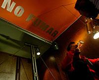 Bar en el que está prohibido fumar (Foto: Antonio Heredia)