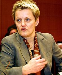 Renate Künast, ministra de agricultura alemana (Foto: Gerard Cerles   EPA)