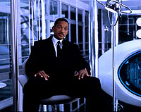 Una escena de 'Men in black II'