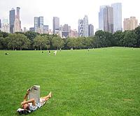 Perfil de la ciudad de Nueva York desde Central Park (Foto: R. C.)