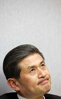 Woo-suk Hwang durante una entrevista realizada el pasado mes de octubre. (Foto: Lee Jae-Won | Reuters)