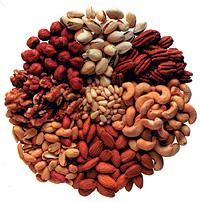 Los frutos secos son una buena fuente natural de antioxidantes (Foto: El Mundo)