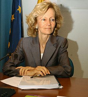 Salgado durante la presentación del balance de la estrategia NAOS. (Foto: EFE)