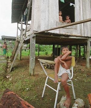 La mente de los niños también sufre el impacto de la violencia (Foto: Juan Carlos Tomasi)