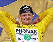 El ciclista se ha convertido en líder tras la undécima etapa. (Foto: AFP)