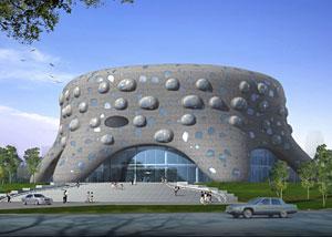 Diseño del futuro Instituto de Nanobiomedicina (Imágenes: Sloan Kulper | Audrey Roy)