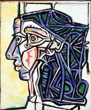 'Cabeza de mujer', de Pablo Picasso