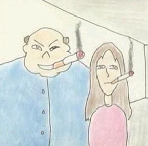 Imagen de uno de los cortos realizados por estudiantes de California.
