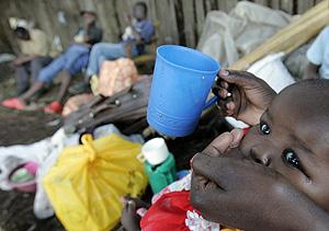 Una niña desplazada de Kenia. (Foto: REUTERS)