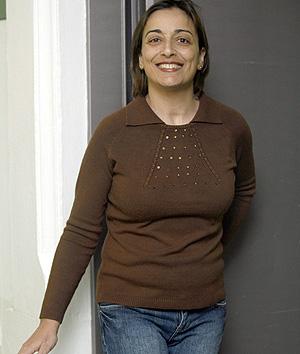María Llanos, una de las pacientes trasplantadas (Foto: EFE | Toni Albir)