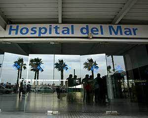 José Ángel recibe tratamiento en el Hospital del Mar de Barcelona (Foto: Quique García)