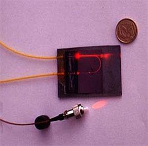 Sensor de absorción similar al que se desarrollará. (Foto: CSIC)