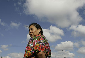 Una mujer guatemalteca (Foto: Pablo Martinez Monsivais | AP)