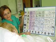 Pictograma utilizado con los pacientes de la UCI