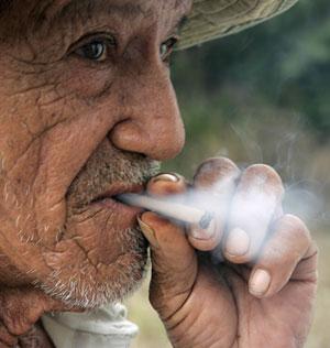 Un anciano habitante de Vilcabamba (Fotos: Guillermo Granja   REUTERS)