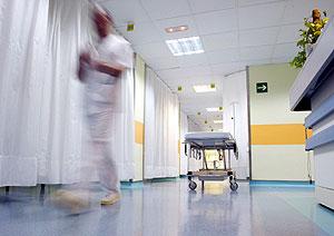 Sala de urgencias del Hospital Txagorritxu, Vitoria. (Foto: Javier Martín)