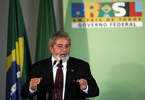 El presidente de Brasil durante su anuncio. (Foto: Reuters)
