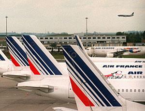 Aviones de la compañía Air France. (Foto: AP | Remy de la Mauviniere)