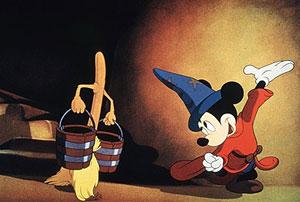 Un fotograma de una película de Mickey. (Cortesía de Walt Disney Company   Reuters)